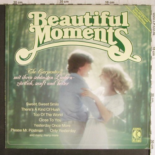 Carpenters: Beautiful Moments, m-/vg+, K-tel(TG 1285), D, 1980 - LP - F9266 - 4,00 Euro