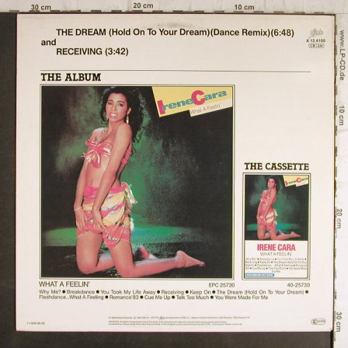 Cara,Irene: The Dream(dance Remix)/Receiving, Epic(A 12.4100), NL, 1984 - 12inch - F9269 - 3,00 Euro