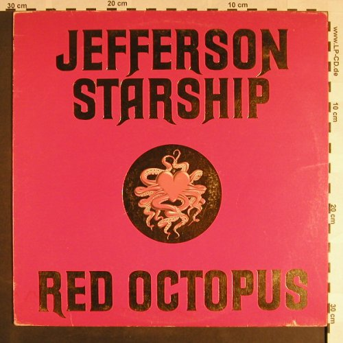 Jefferson Starship: Red Octopus, vg+/m-, Grunt(26.21537 AS), D/US, 1975 - LP - F9372 - 4,00 Euro
