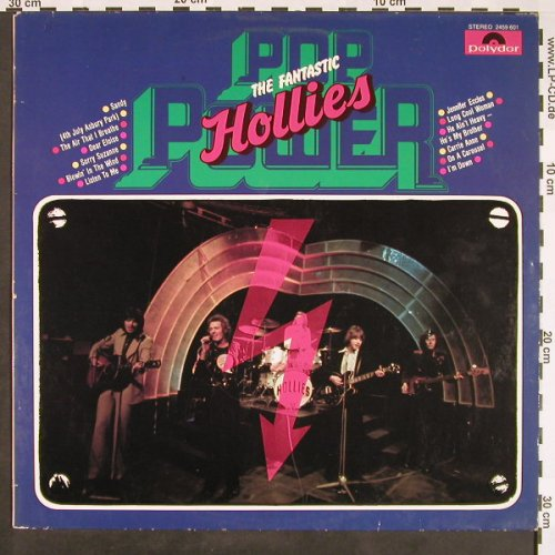 Hollies: Pop Power-The Fantastic, Polydor(2459 601), D, 1974 - LP - F9430 - 5,00 Euro
