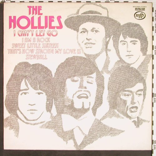 Hollies: I can't let go, MFP(MFP 50094), UK, Ri,  - LP - F9431 - 5,00 Euro