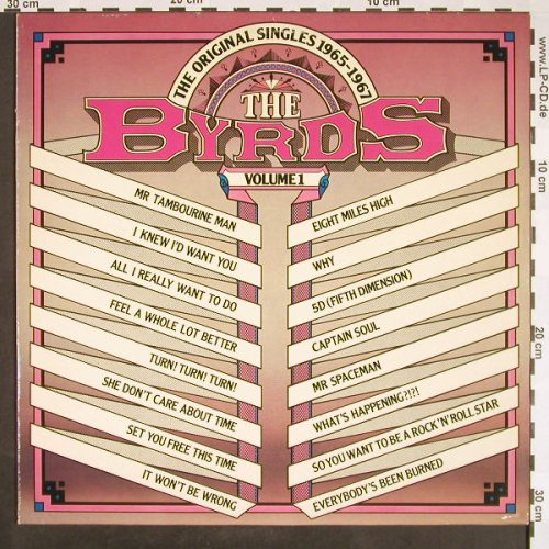 Byrds: The Original Singles Vol.1(65-67), Embassy/CBS(31 851), NL,Ri,1980,  - LP - F9463 - 5,00 Euro
