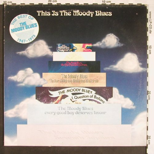 Moody Blues: This Is The Moody Blues, Foc, Threshold(6.28316 DX), D, 1975 - 2LP - F9473 - 7,50 Euro