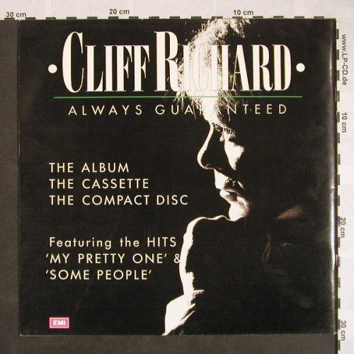 Richard,Cliff: Always Guarateed-World Tour, EMI(), NL, 1987 - Book - F9561 - 6,00 Euro