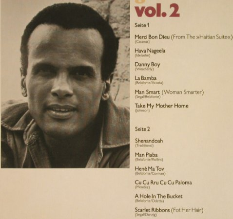 Belafonte,Harry: Golden Records Vol.2, Club-Ed., RCA(27 622-0), D, 1974 - LP - F9582 - 5,00 Euro