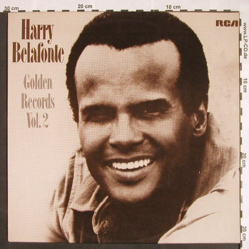 Belafonte,Harry: Golden Records Vol.2, RCA Victor(LSP-10419), D, 1974 - LP - F9583 - 6,00 Euro