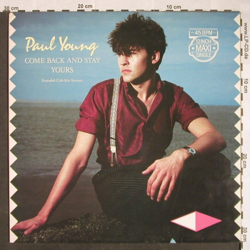Young,Paul: Come Back And Stay+1, CBS(12.3636), NL, 1983 - 12inch - F9801 - 3,00 Euro