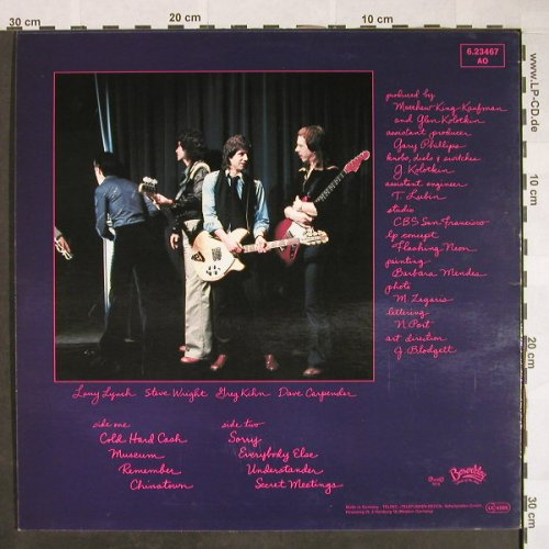 Kihn,Greg: Next Of Kihn, Beserkley(6.23467 AO), D, 1978 - LP - F9842 - 4,00 Euro