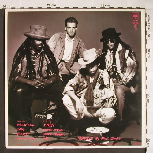 Big Audio Dynamite: This Is..., CBS(26714), NL, 1985 - LP - F9864 - 5,00 Euro
