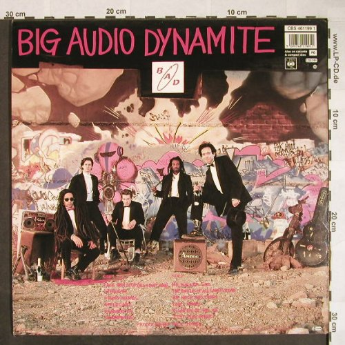 Big Audio Dynamite: Tighten Up Vol.88, CBS(461199 1), NL, 1988 - LP - F9865 - 6,00 Euro