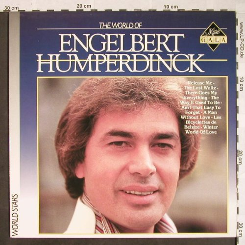 Engelbert Humperdinck: The World of, Musik Gala/ Arcade(ADEH 439), D, 1986 - LP - F9875 - 5,50 Euro