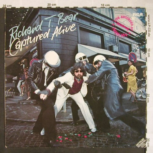 Bear,Richard T.: Captured Alive-Onkel Pö, RCA Victor(PL 13462), D, 1979 - LP - F9952 - 6,50 Euro