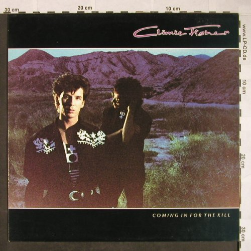 Climie Fisher: Comming In For The Kill, vg+/m-, EMI(7 93005 1), EEC, 1989 - LP - F9962 - 4,00 Euro