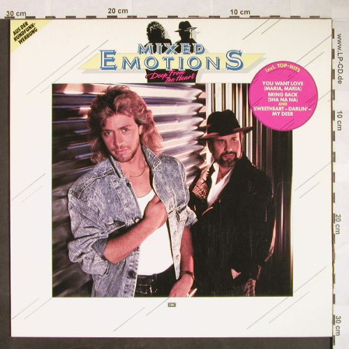 Mixed Emotions: Deep From The Heart, Electrola(14 7256 1), EEC, 1987 - LP - F9981 - 5,00 Euro