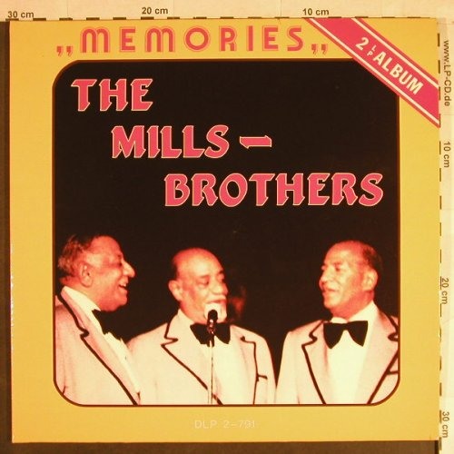 Mills Brothers: Memories, Foc, All Round Trading(DLP 2-791), DK,  - 2LP - H1125 - 5,00 Euro
