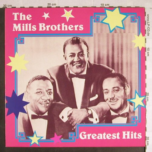 Mills Brothers: Greatest Hits, ART(AA 8605), EEC, 1986 - LP - H1162 - 5,00 Euro