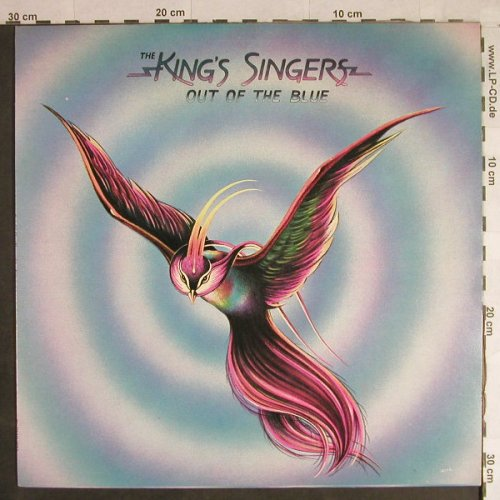 King's Singers: Out of the Blue, EMI(EMC 3023), UK, 1974 - LP - H1358 - 7,50 Euro