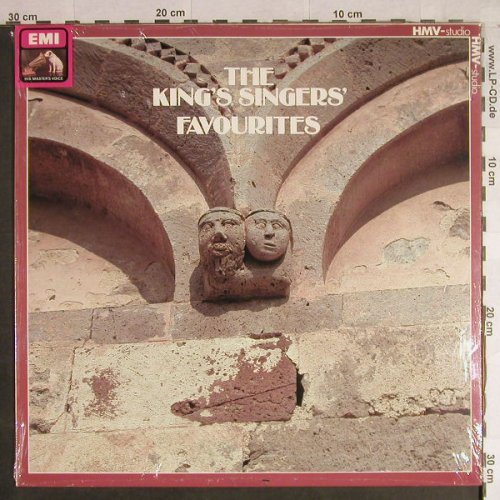 King's Singers: Favourites, FS-New, EMI(29 0074 1), D, 1982 - LP - H1362 - 9,00 Euro