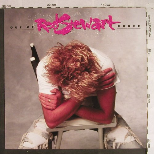 Stewart,Rod: Out Of Order, WEA(925 684-1), D, 1988 - LP - H1382 - 5,00 Euro