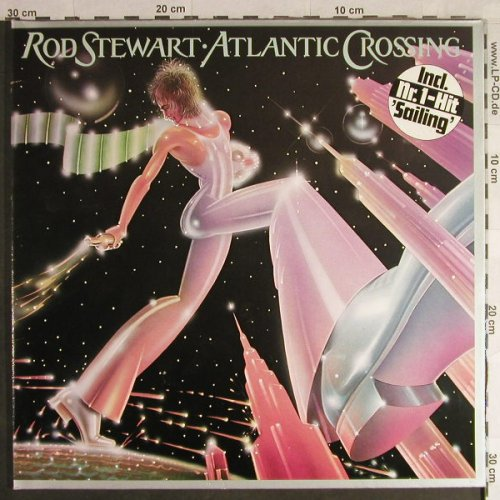 Stewart,Rod: Atlantic Crossing, Foc, WB(56 151), D, 1975 - LP - H1456 - 5,00 Euro