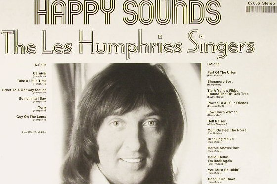 Les Humphries Singers: Happy Sounds, Club-Sonderauflage, Decca(62 836), D, 1973 - LP - H1577 - 6,00 Euro