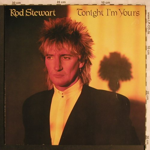 Stewart,Rod: Tonight I'm Yours, sealed, WEA(K 56 951), D, 1981 - LP - H1650 - 7,50 Euro