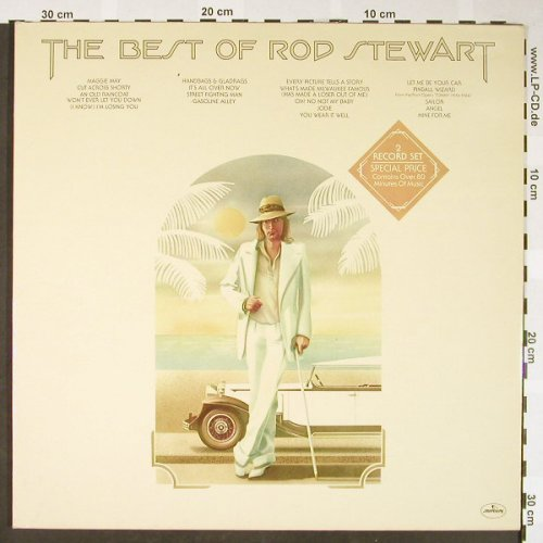 Stewart,Rod: The Best Of, Foc, Mercury(6619 030), D,  - 2LP - H1654 - 7,50 Euro