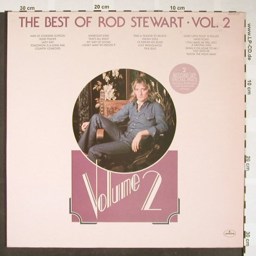 Stewart,Rod: The Best Of Vol.2, Foc, Mercury(6619 031), D,  - 2LP - H1655 - 7,50 Euro