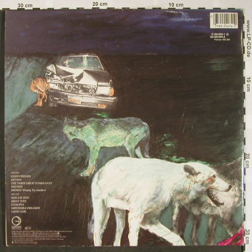 Mitchell,Joni: Dog Eat Dog, Foc, Geffen(924 074-1), D, 1985 - LP - H1786 - 5,00 Euro