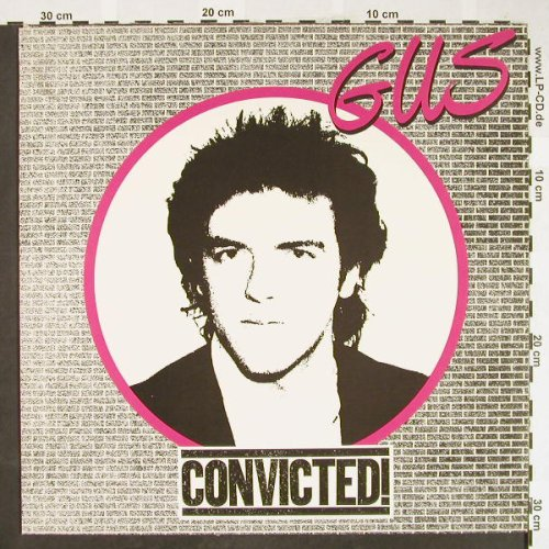 GUS: Convicted, Epic(84422), NL, 1980 - LP - H1809 - 7,50 Euro