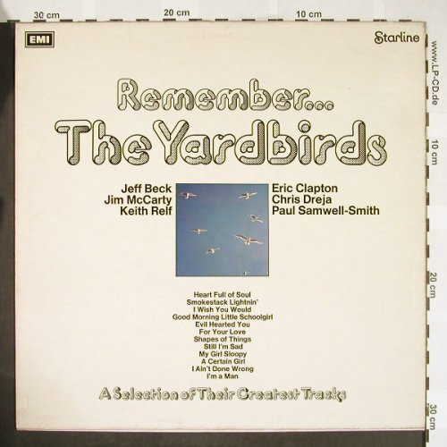 Yardbirds: Remember..., Starline / EMI(SRS 5069), UK,  - LP - H1814 - 6,00 Euro