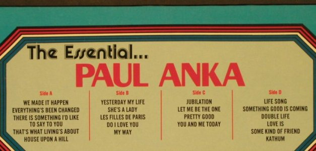 Anka,Paul: The Essential..., Foc, Buddah(87.002-2), D, Ri, 1976 - 2LP - H1860 - 7,50 Euro