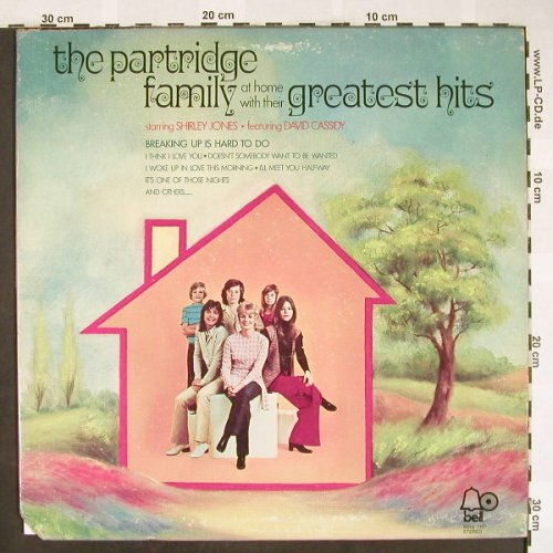 Partridge Family: At home with their Greatest Hits, Bell(1107), US, co, 1972 - LP - H1931 - 7,50 Euro