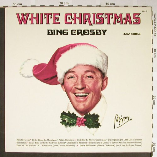 Crosby,Bing: White Christmas, MCA Coral(42.017), D, Ri, 1984 - LP - H2148 - 5,00 Euro