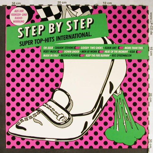 V.A.Step by Step: Super Top-Hits International, CBS(24015), NL, 1982 - LP - H2181 - 4,00 Euro