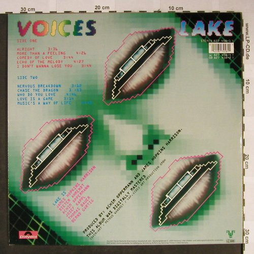 Lake: Voices, Polydor(827 458-1), D, 1985 - LP - H2306 - 5,50 Euro