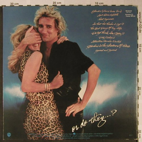 Stewart,Rod: Blondes Have More Fun, Foc, WB(WB 56572), D, 1978 - LP - H2448 - 6,00 Euro