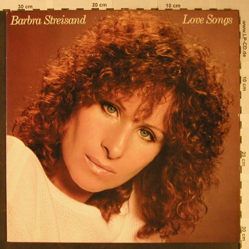 Streisand,Barbra: Love Songs, CBS(10 031), UK, 1981 - LP - H2453 - 5,00 Euro