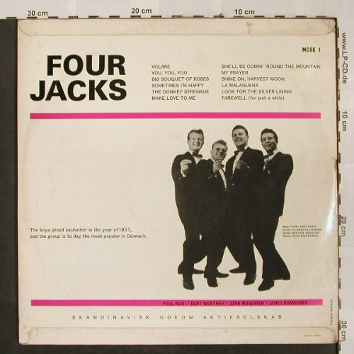 Four Jacks: Same, vg-/vg+, bad cond., Odeon(MOEK 1), S,  - LP - H2601 - 5,00 Euro
