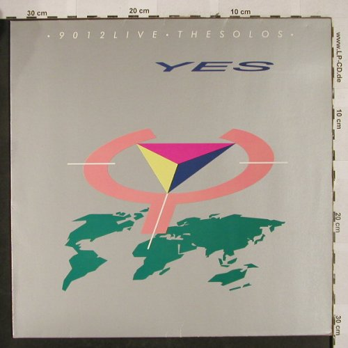Yes: 9012 Live-The Solos, Atco(790 474-1), D, 1985 - LP - H2640 - 5,00 Euro