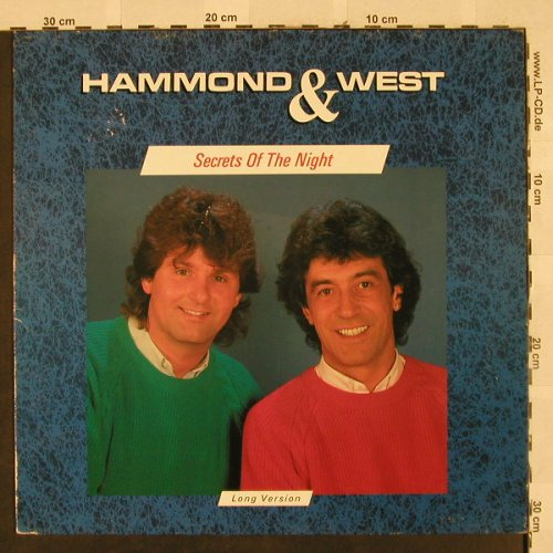 Hammond & West: Secrets Of The Night lg, +2, Ariola(608 998-213), D,m /vg+, 1987 - 12inch - H2661 - 3,00 Euro