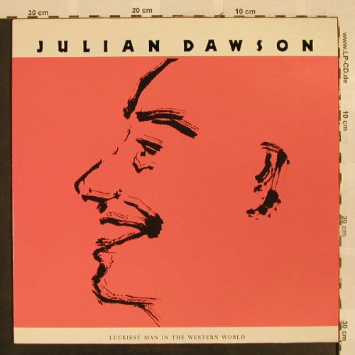 Dawson,Julian: Luckiest Man In The Western World, Polydor(837 422-1), D, 1988 - LP - H2673 - 6,00 Euro