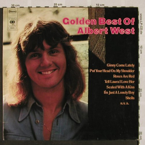 West,Albert: Golden Best Of, Foc, CBS(65 873), D, 1973 - LP - H2686 - 5,50 Euro