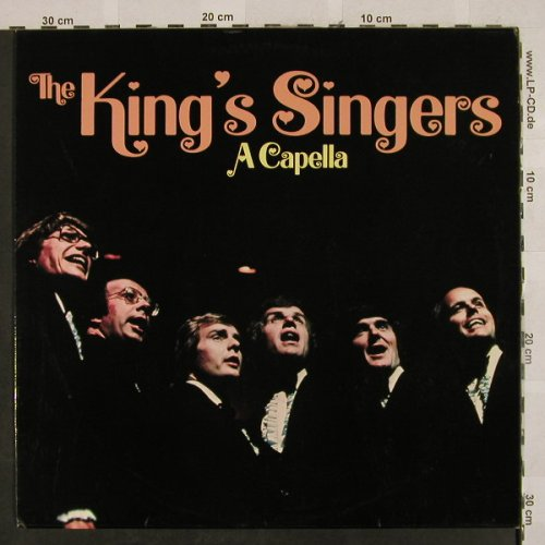 King's Singers: A Capella, Aves(MLP 15 950), D,  - LP - H2704 - 7,50 Euro