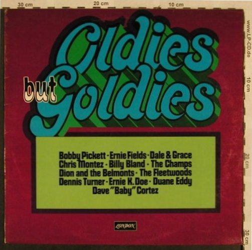 V.A.Oldies but Goldies: Picket &Crypt-Kickers...Ernie K.Doe, London Musik für alle(NL 744), D, 1972 - LP - H2770 - 5,00 Euro