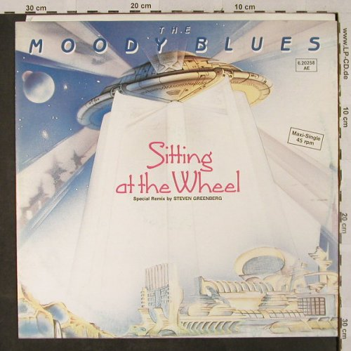 Moody Blues: Sitting At T.Wheel+2,Remx Greenberg, Threshold(6.20258 AE), D, 1983 - 12inch - H2876 - 3,00 Euro