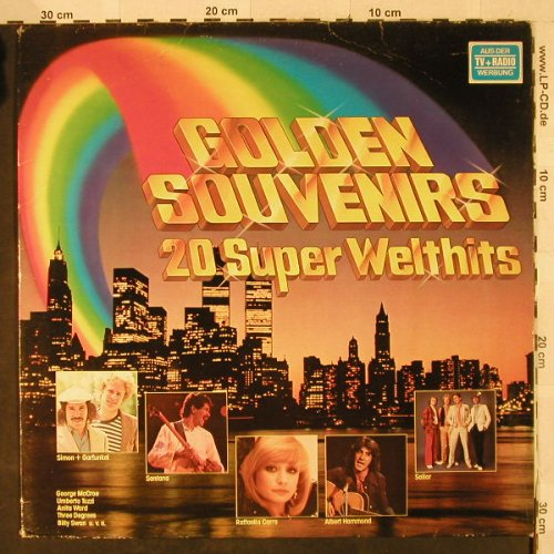 V.A.Golden Souvenirs-20SuperWelth.: Sailor...5000 Volts, CBS(84 138), NL, 1978 - LP - H2885 - 4,00 Euro