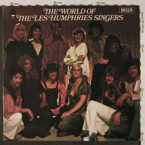 Les Humphries Singers: The World Of, Decca(ND 810), D, 1973 - LP - H2905 - 6,00 Euro