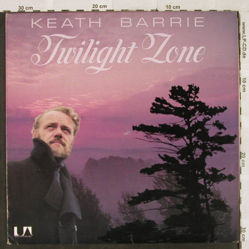 Barrie,Keath: Twilight Zone, UA(UALA 727G), CDN,  - LP - H3088 - 5,00 Euro