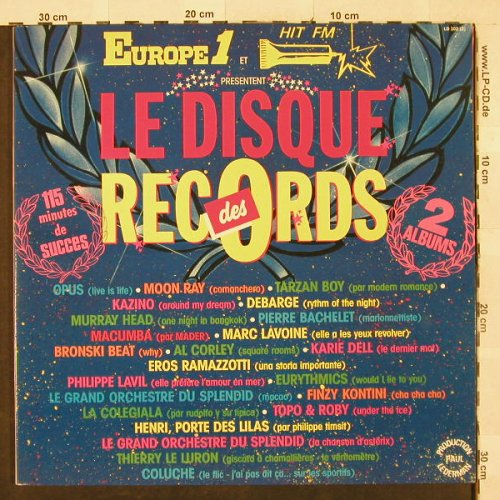 V.A.Le Disque Records: Opus...Coluche, Foc, Prod. Paul Lederman(LD 102(2)), F, 1985 - 2LP - H3165 - 6,50 Euro